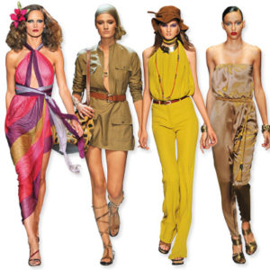 In Style Spring 2011 Current Fashion Trend Report Achievable Fashion
