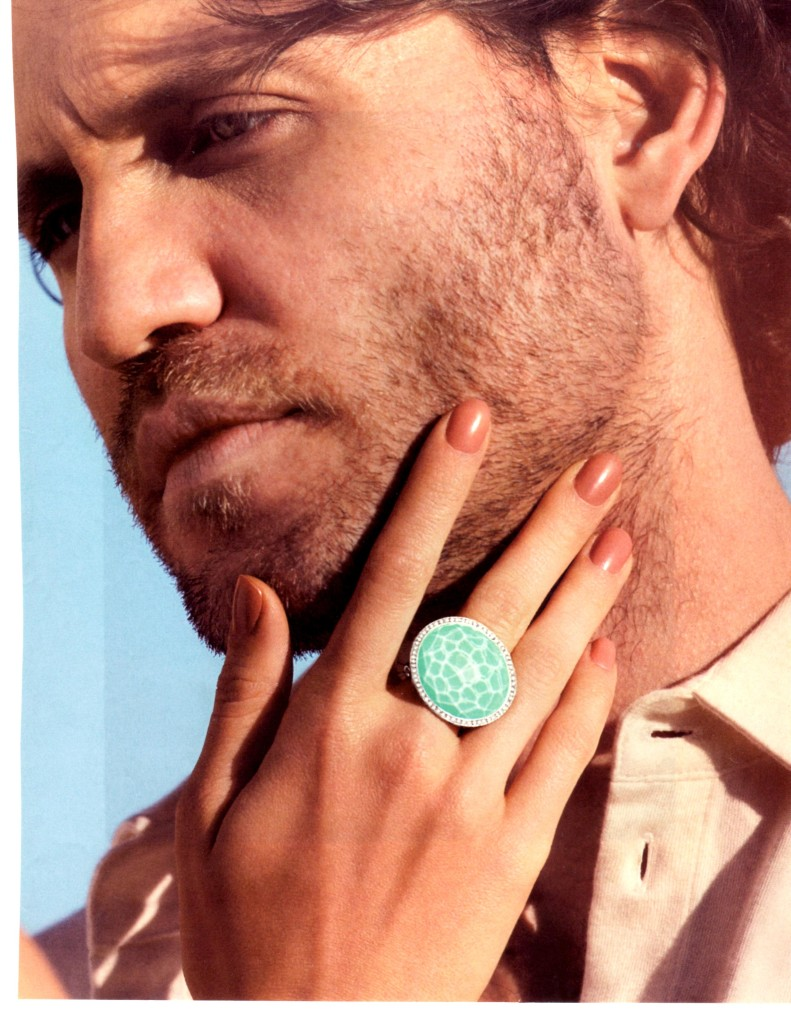 another favorite of mine from the march issue of bazar magazine is this ippolita ring the color is stunning the water affect is a big spring trend