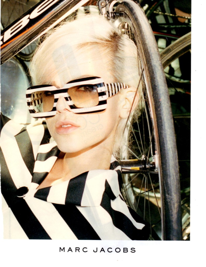 marc Jacobs striped glasses
