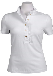 white short sleeve top closet must #10