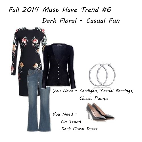 fall 2014 dark florals