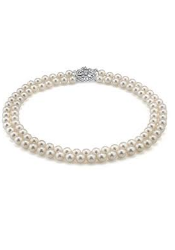 Double Pearl Necklace correct size