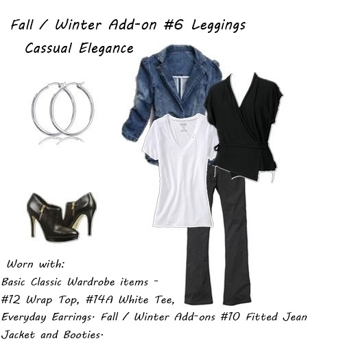 fall wardrobe Fall Winter Addon 6 Casual Elegance