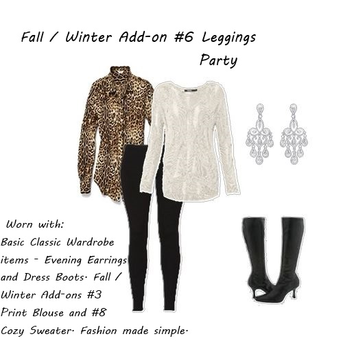 fall wardrobe Fall Winter Addon 6 Leggings Party