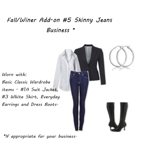nothing to wear Fall winter add on 5 skinny jeans business