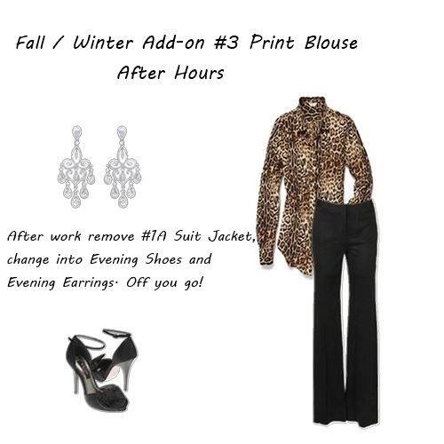 fall clothes Fall winter addon 3 Print blouse