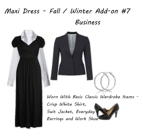 My wardrobe Maxi Dress - Business