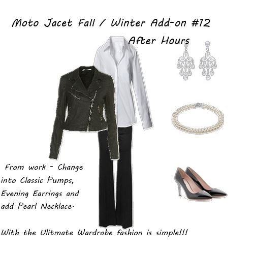 Fall Jacket Moto Jacket After Hours