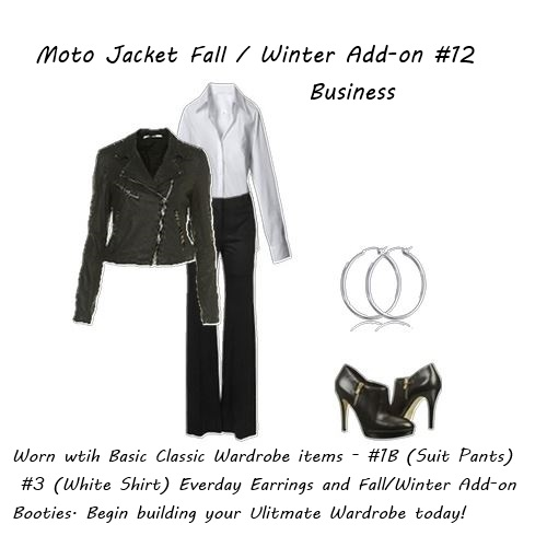 Fall Jacket - Moto Jacket Business
