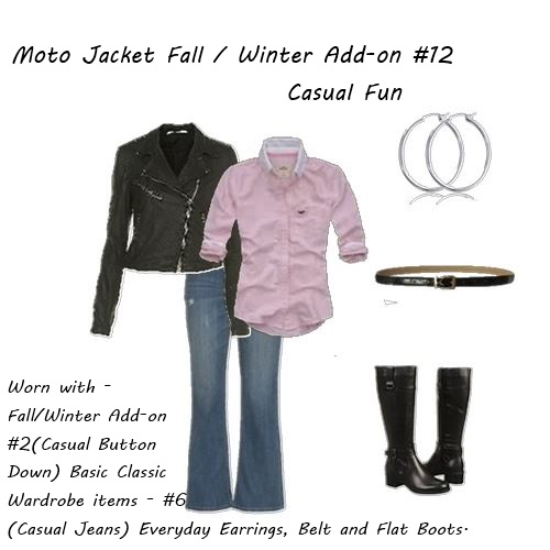 fall jacket Moto Jacket Casual Fun