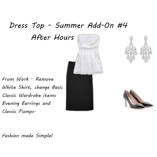 Summer Wardrobe Essential Dress Top After Hours 2