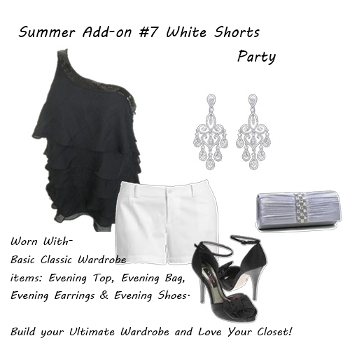 Summer Outfits White Shorts