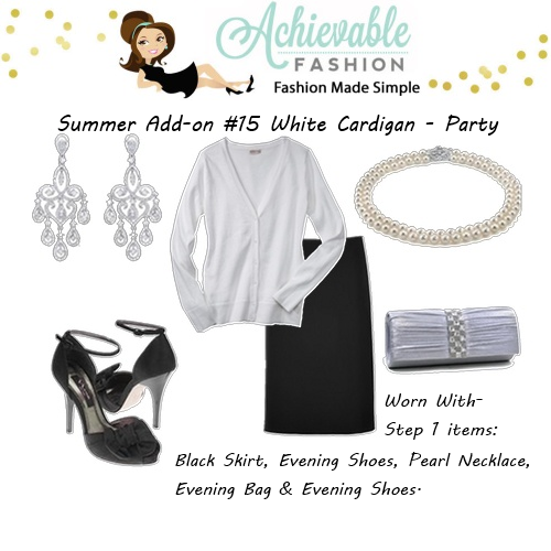 Cardigan Outfits Party 2