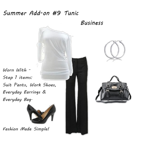 Summer Clothes Tunic Business 2
